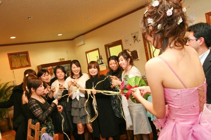 挙式とは別日程の友人主催の会費制パーティ