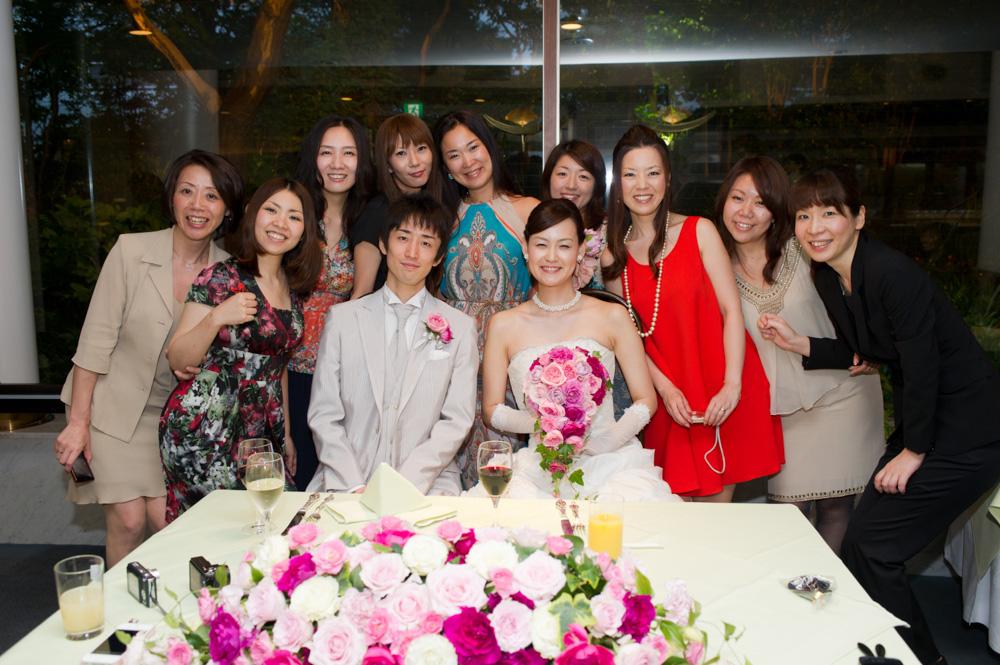 リゾート挙式後のアフターパーティ