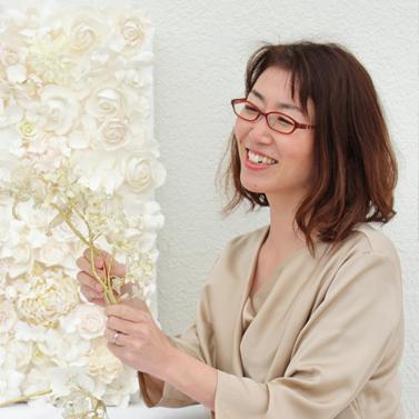 株式会社ウェディングファクトリー 代表 クレイアーティスト内野 美佐