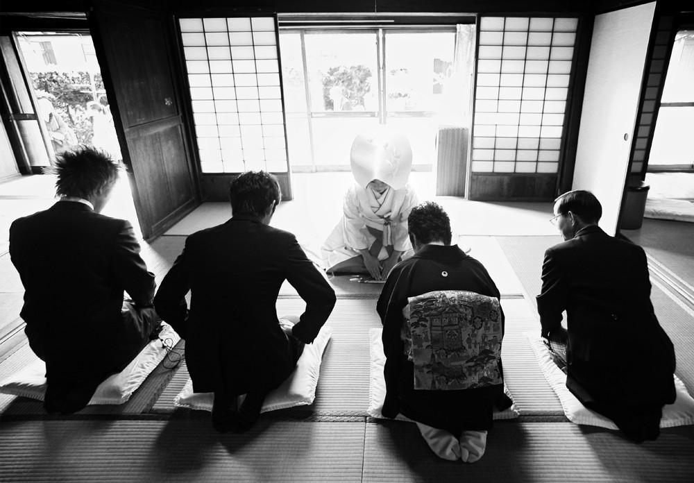 日本の結婚式は、素敵です。