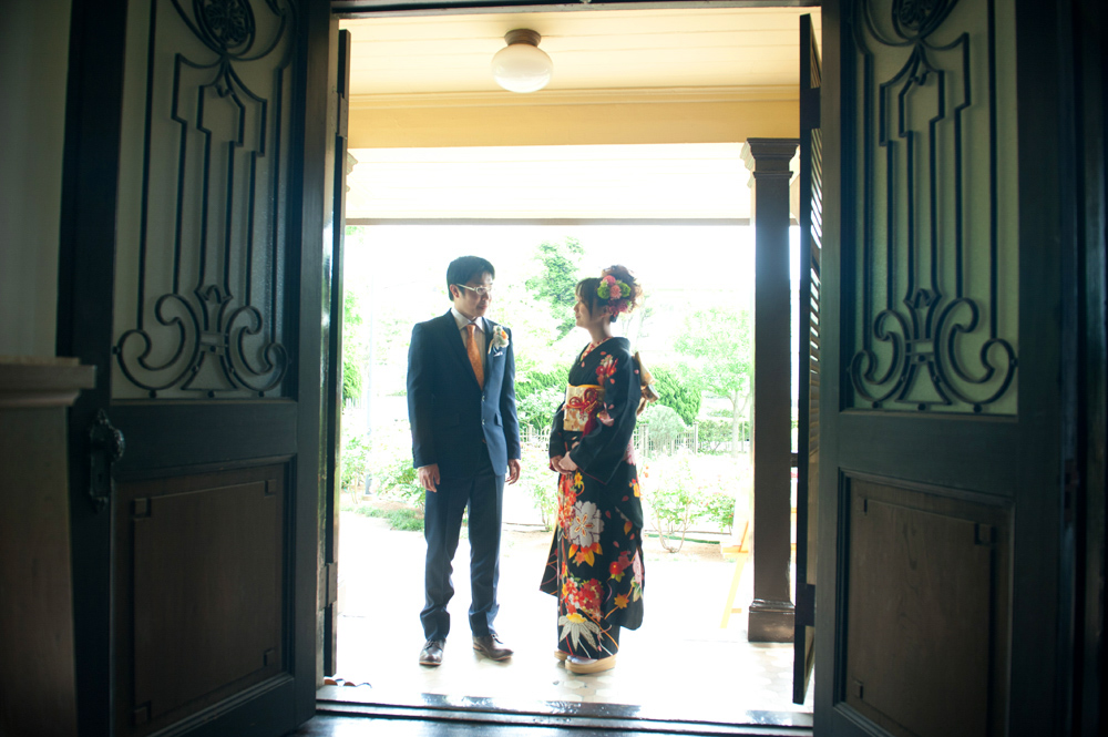 横浜の「歴史的建造物」での結婚式