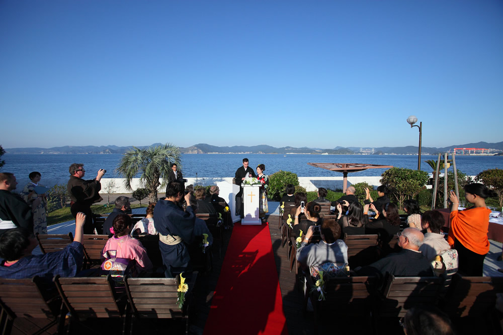 海外在住のカップルのご婚礼サポート