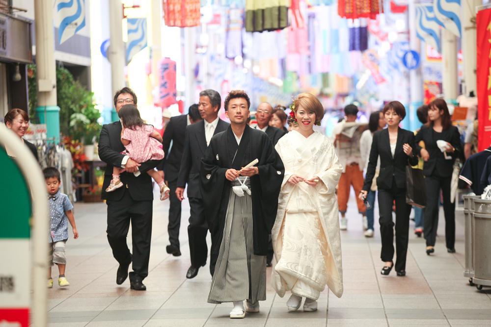 手作り感満載 「じぇじぇ!」な和の結婚式
