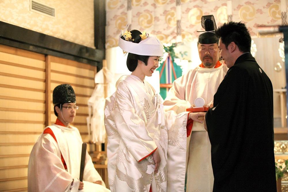 神社〜レストランでの結婚式