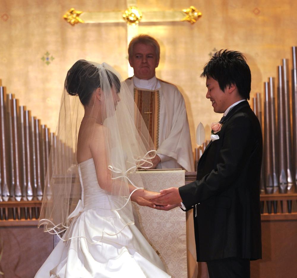 花嫁のご両親と同じ結婚記念日に