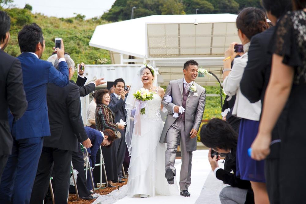 農場でのオリジナル結婚式