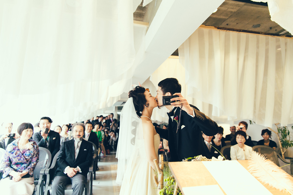 Little wedding on the planet
