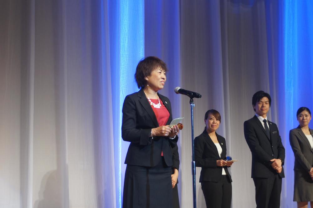 「いい結婚式」のプランニングコンテスト「Good Wedding Award 2014」でウェコ 山本恵さんの【おひさま結婚式】がグランプリを受賞しました12