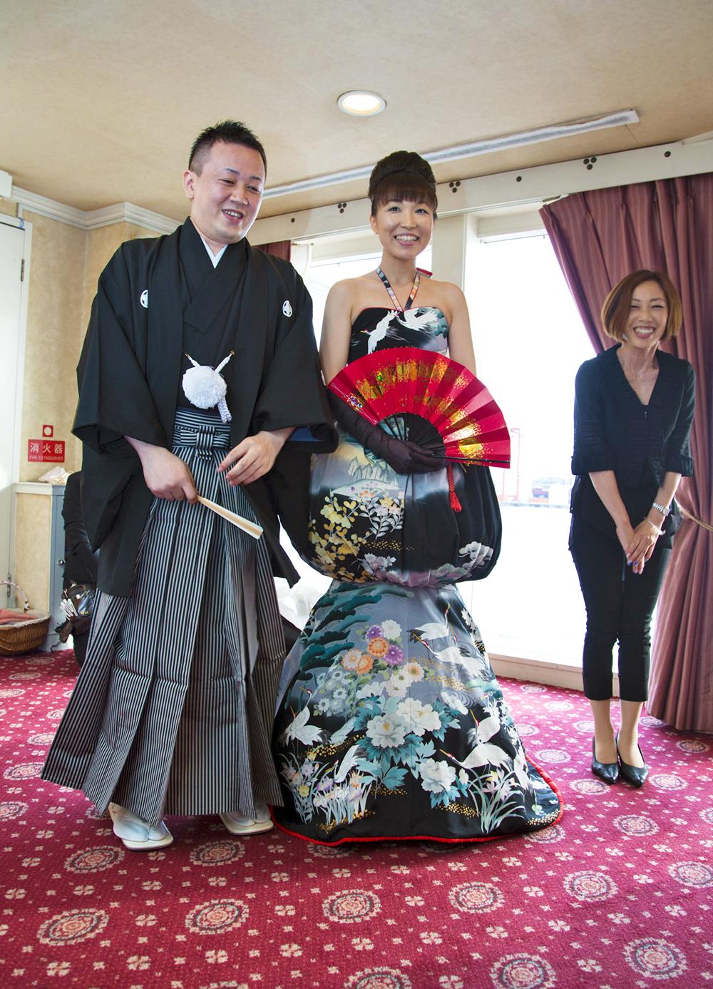 ゲストと東京ベイクルーズを満喫できた船上ウエディングパーティ