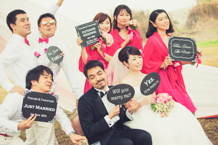 OUTDOOR WEDDING『BBQ×COMEDY』