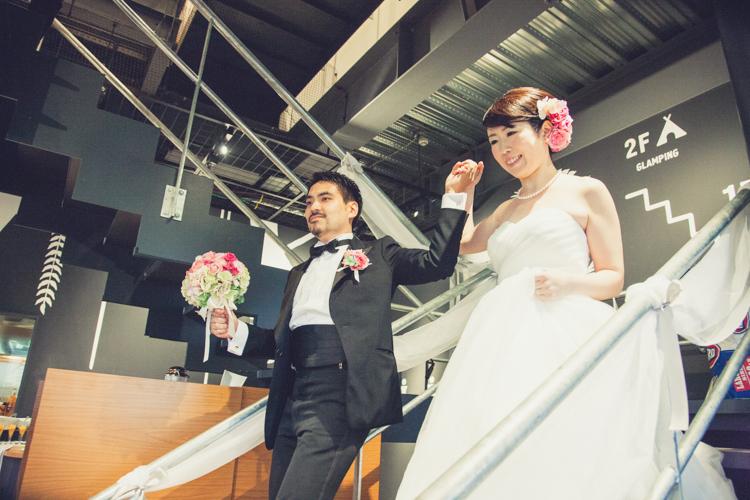 OUTDOOR WEDDING『BBQ×COMEDY』