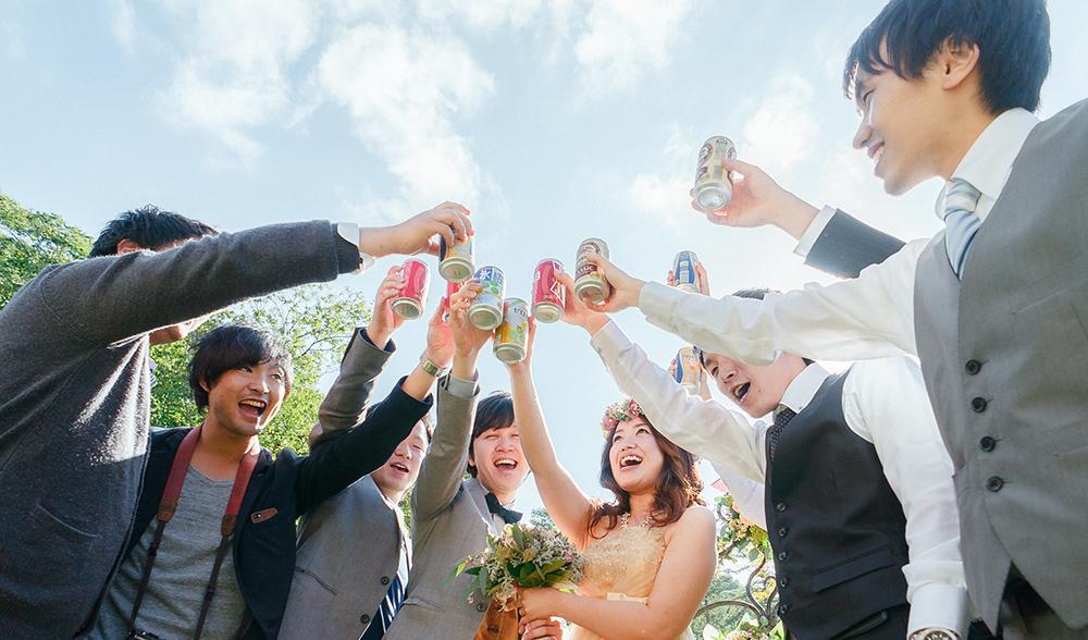 心の底から、「楽しかった!」そういえる結婚式を一緒に作りましょう!