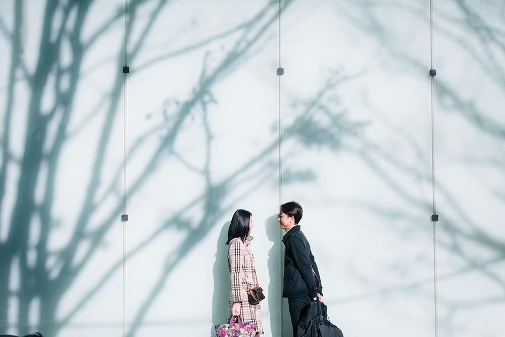 【結婚式当日の朝、会場へ向かう途中で…】