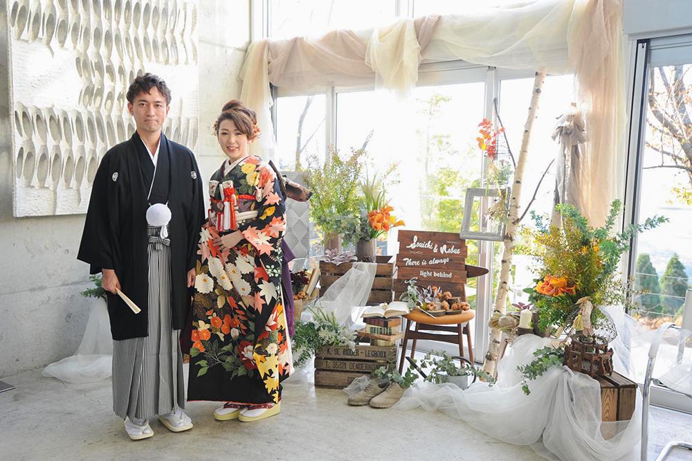 ドレスコードは「秋色」のお洒落!@茶房 わらび野