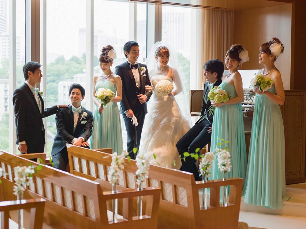 ブライズメイド&グルームズマン(アッシャー)のいる結婚式が大人気!