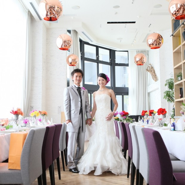結婚式・パーティー会場の紹介The GARDEN GINZA